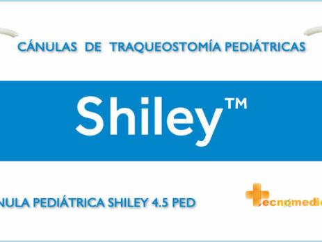 45PED Cánulas de traqueostomía pediátricas y neonatales Shiley