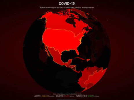 Visualizador de COVID-19