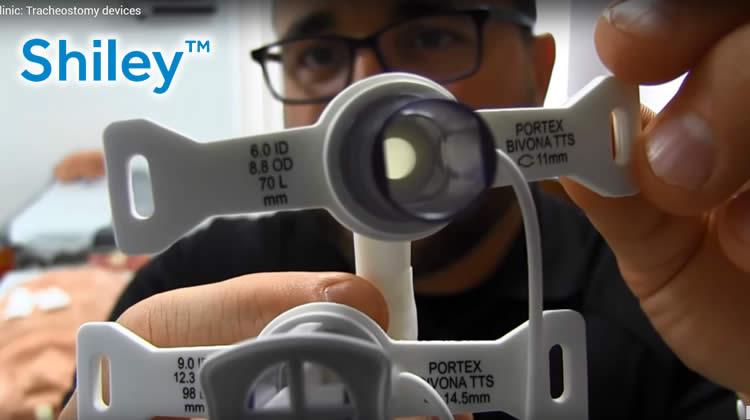 Distribuidor Canulas para traqueostomia Shiley