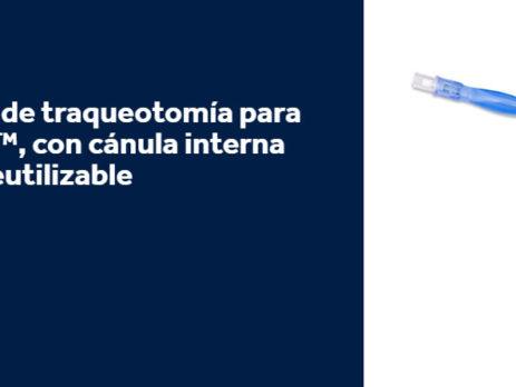 Tubos flexibles de traqueotomía para adultos Shiley con cánula interna desechable o reutilizable