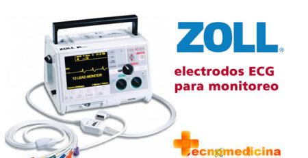Zoll electrodos ECG para monitoreo