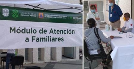 Módulos de atención para familiares de pacientes
