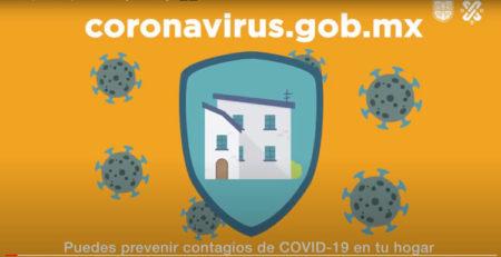Medidas preventivas para evitar contagios en el hogar