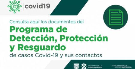 Programa de detección, protección y resguardo de casos COVID-19 y contactos