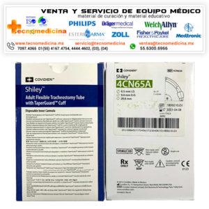 Cánula para traqueostomia 4CN65A marca Shiley