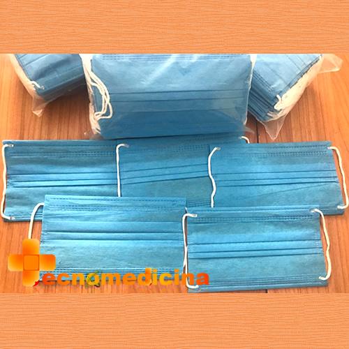 Cubrebocas triple capa