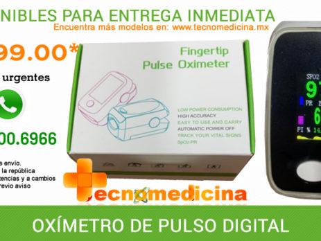OXÍMETRO DE PULSO DIGITAL