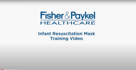 Video de entrenamiento con mascarilla de reanimación infantil